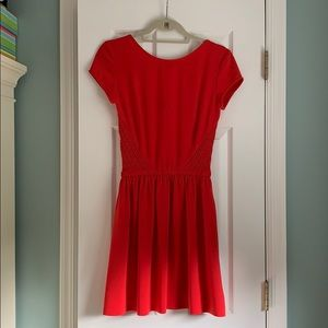 Maje red mini dress